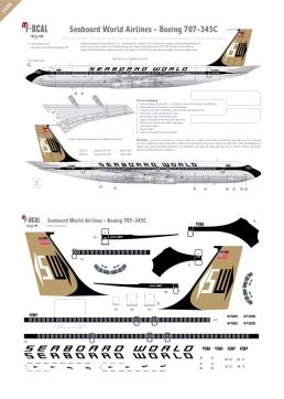 Seaboard World - Boeing 707-345C