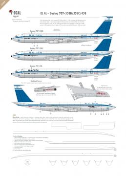 El Al - Boeing 707-320/420