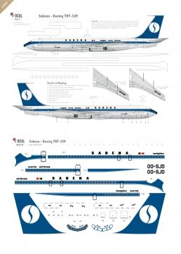 Sabena - Boeing 707-329
