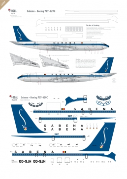 Sabena (delivery scheme) - Boeing 707-329C