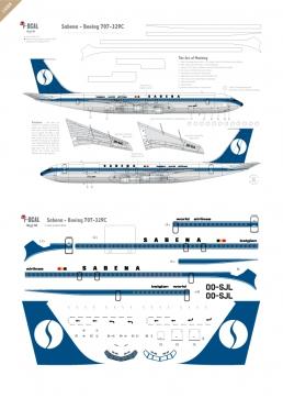 Sabena - Boeing 707-329C
