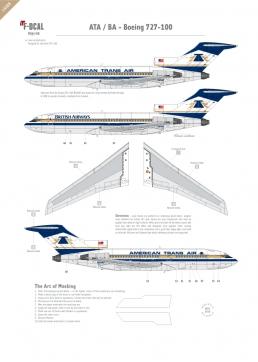 American Trans Air / BA - Boeing 727-100