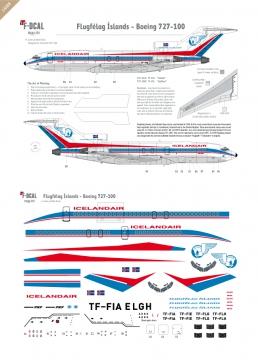 Flugfelag Islands - Boeing 727-100