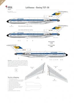 Lufthansa - Boeing 727-100