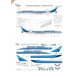 Aerolineas Argentinas - Boeing 727-200