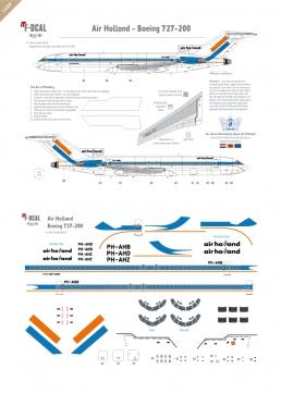 Air Holland - Boeing 727-200