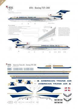 American Trans Air - Boeing 727-200
