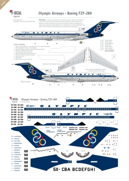 Olympic Airways - Boeing 727-200