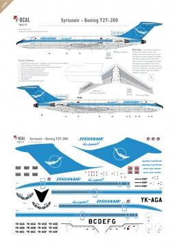 Syrianair - Boeing 727-200
