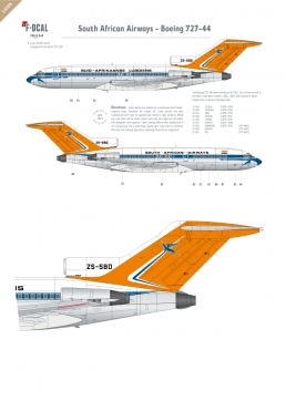 South African AW - Boeing 727-100