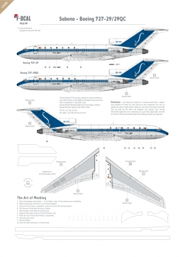 Sabena (delivery scheme) - Boeing 727-29/29QC