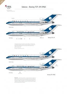 Sabena - Boeing 727-29/29QC