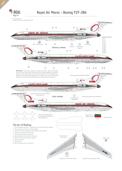 Royal Air Maroc - Boeing 727-200