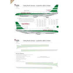 Cathay Pacific - Lockheed L1011 Tristar