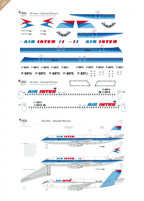 Ar Inter - Dassault Mercure