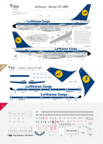 Lufthanasa Cargo - Boeing 737-200F