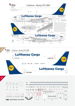 Lufthansa Cargo - Boeing 737-200F