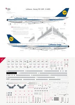Lufthansa Cargo - Boeing 747-200