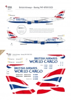 British Airways World Cargo - Boeing 747-8F