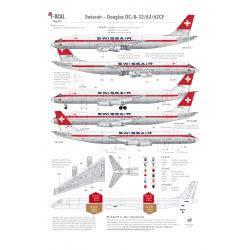 Swissair - Douglas DC-8-32/62 (Old colours)
