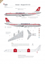 Swissair - Douglas DC-8-32/62 (Old colours)