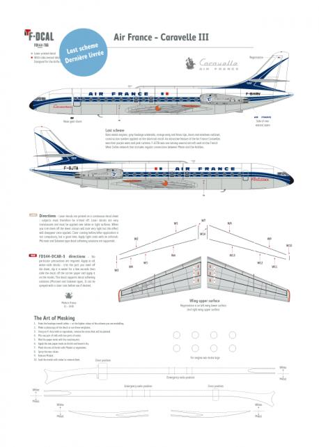 Air France (Last scheme) - Caravelle III