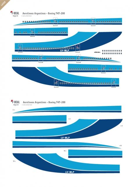 Aerolineas Argentinas - Boeing 747-200