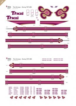 Thai Airways - Boeing 747-400