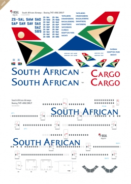 South African - Boeing 747-200/400