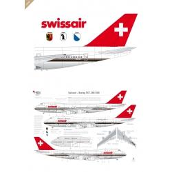 Swissair - Boeing 747-200 (Chocolate)