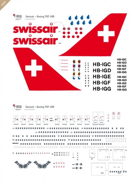 Swissair - Boeing 747-300 (Last flight)