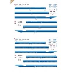 KLM - Boeing 747-200 (Delivery scheme)