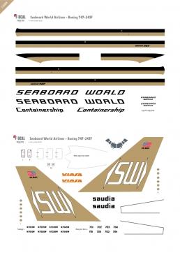 Seaboard World AL - Boeing 747-245F