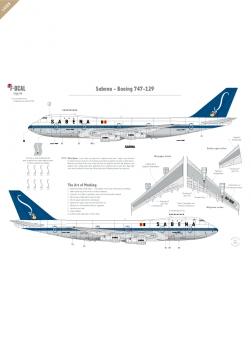 Sabena (livrée originale) - Boeing 747-129