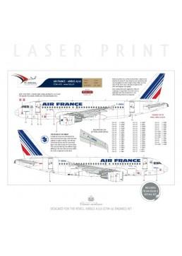 Air France (Barcode 1974) - Airbus A319