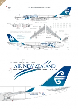 Air New Zealand - Boeing 747-400 (Pacific wave)