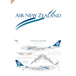 Air New Zealand - Boeing 747-400 (Simplified wave)