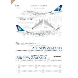 Air New Zealand - Boeing 747-400 (No wave)