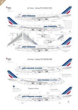 Air France - Boeing 747-400 (Barcode 1974)