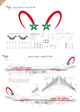 Royal Air Maroc - Boeing 747-400
