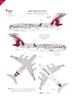 Qatar Emiri AF - Boeing C-17A Globemaster III
