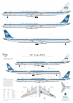 KLM - Douglas DC-8-63 (Horizontal stripes)