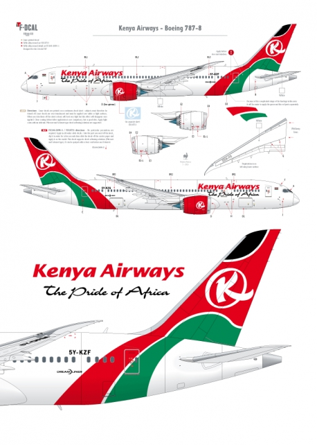 Kenya Airways - Boeing 787