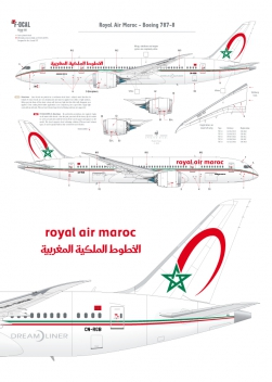 Royal Air Maroc - Boeing 787