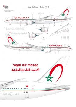 Royal Air Maroc - Boeing 787