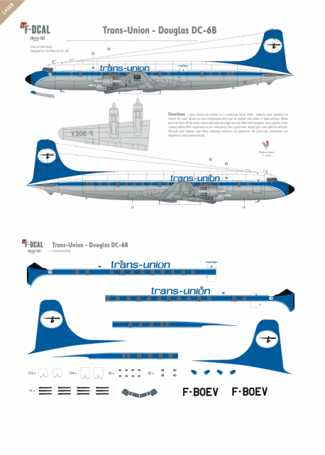 Trans-Union - Douglas DC-6B