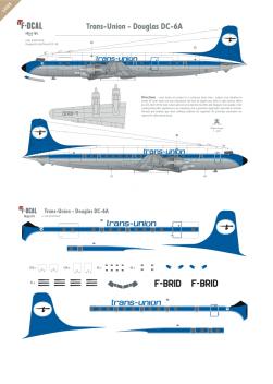 Trans-Union - Douglas DC-6A