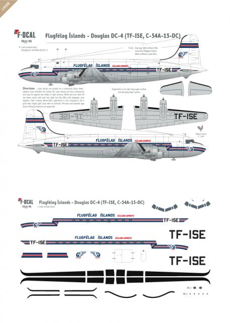 Flugfelag Islands - Douglas DC-4