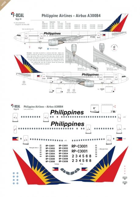 Philippines - Airbus A300B4