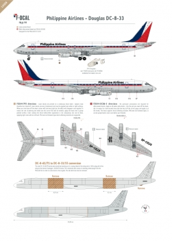 Philippine Airlines - Douglas DC-8-33